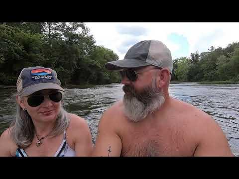 Camping At Lake Lurleen State Park, Tuscaloosa Alabama