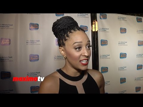 Tia Mowry-Hardrict Interview | Looking Ahead Awards 2014 | Red Carpet