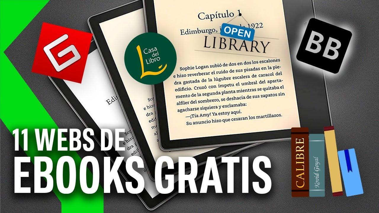 11 Webs Para Descargar Ebooks Gratis Para Tu Kindle Xataka Tv Youtube