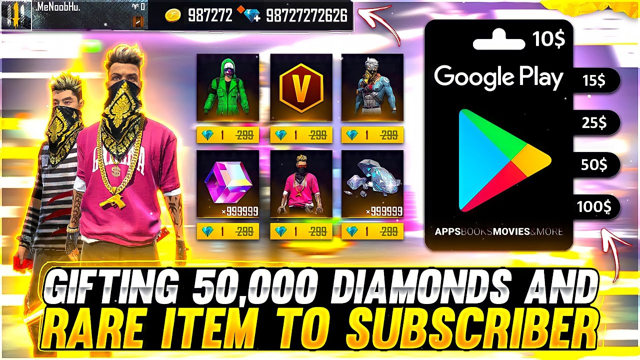 Got Everything In 1💎Diamond To My Subscriber Account 😍 Buying 40,000 Diamonds - Garena Free Fire