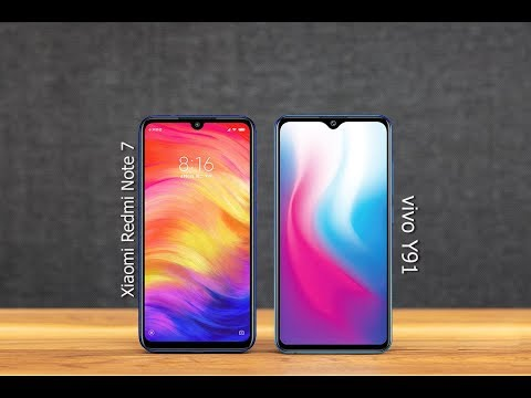 Xiaomi Redmi Note 7 | Vs | vivo Y91 - comparison 2019