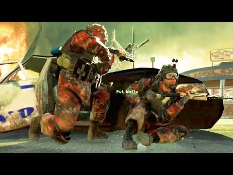 Russian Campaign Gameplay - Modern Warfare 2 Russian Invasion of USA