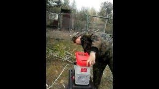 садовый измельчитель зубр 3