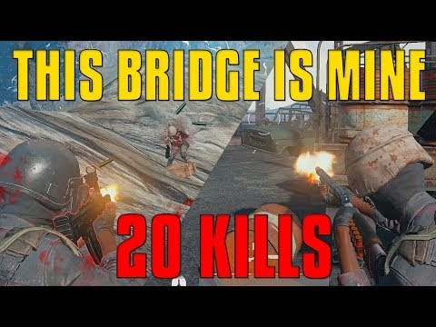 This Bridge Is Mine! - 20 Kills Solo - PlayerUnknown's Battlegrounds