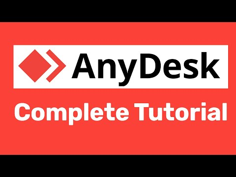 How to use  AnyDesk to Access Remote Computer, Transfer Files , Chat and screen share to Another PC