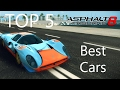 Asphalt 8: Top 5 Best Cars