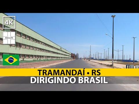 Dirigindo em TRAMANDAÍ • RS  🚙 🇧🇷【4K】Dirigindo Brasil [POV Driving]