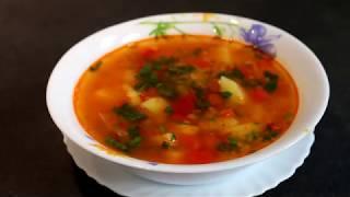 Суп с чечевицей.Вкусно и полезно.