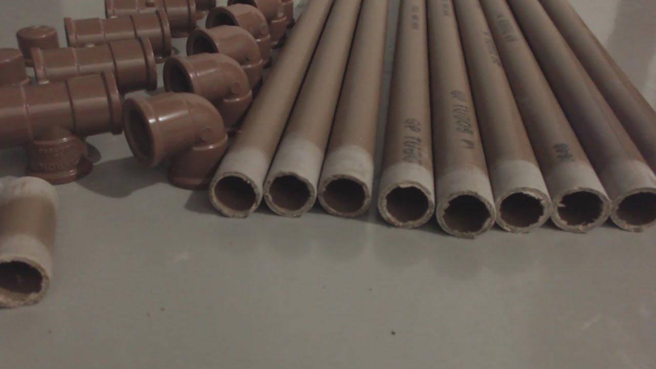 Toldo caseiro com canos de PVC barato e simples de fazer