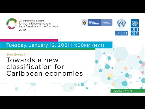 Side Event 1: Towards a new classification for Caribbean economies