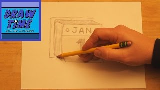 How to Draw 3-D Calendar