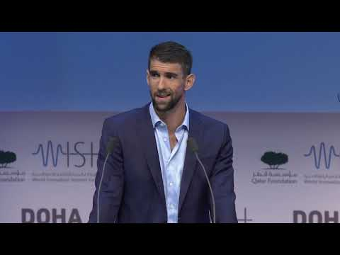 WISH 2018 Keynote speech by Michael Phelps