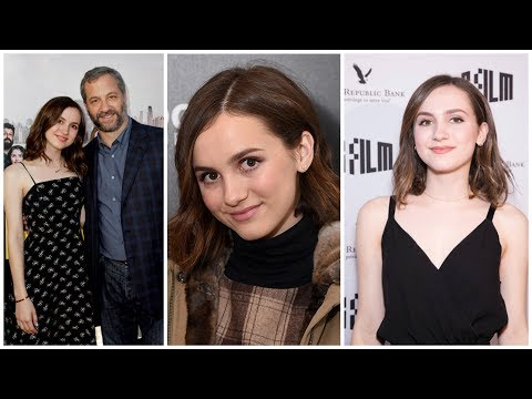 Judd Apatow and Leslie Mann Daughter Maude Apatow 2017