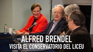 Alfred Brendel en el Conservatorio del Liceu