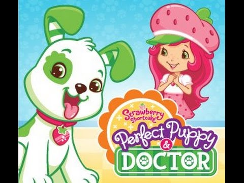 Strawberry Shortcake Perfect Puppy Doctor Part 2 - best iPad app demo for kids - Ellie
