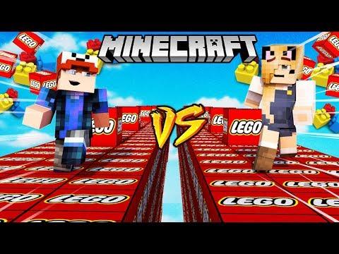 SZALONY WYŚCIG! - LEGO LUCKY BLOCKI MINECRAFT (Lego Lucky Block Race) | Vito vs Bella