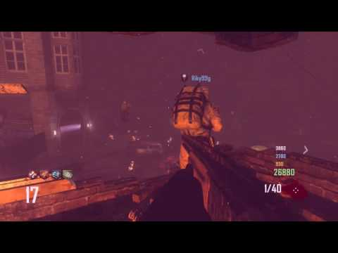 CALL OF DUTY BLACK OPS 2 ZOMBIES SURVIVAL TOWN WITH RANDOMS