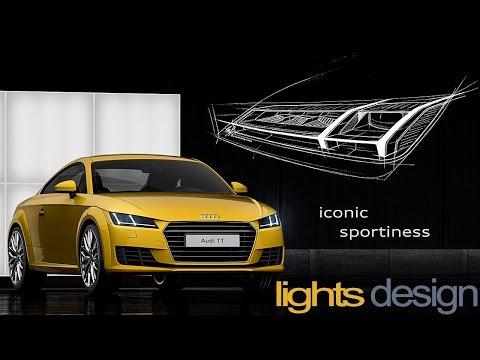Audi LIGHTS | Signature Audi Daytime Running Lights Animation