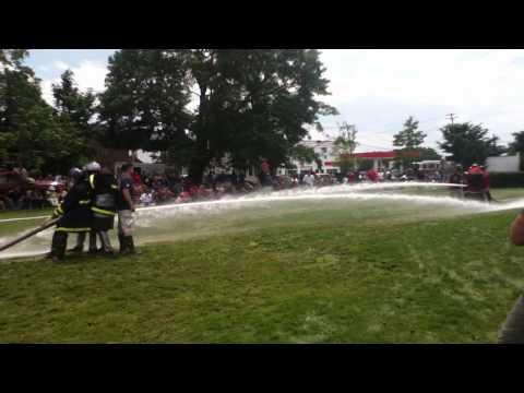 Bristol R.I. Firemans Muster - Water Battle 2