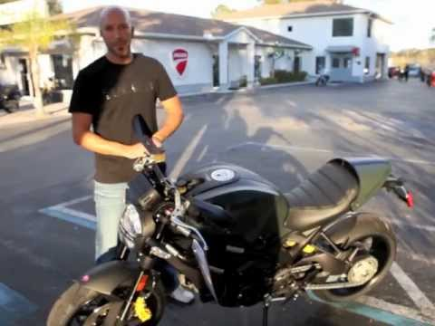Ducati Monster 1100 Diesel Delivery at Euro Cycles of Tampa Bay