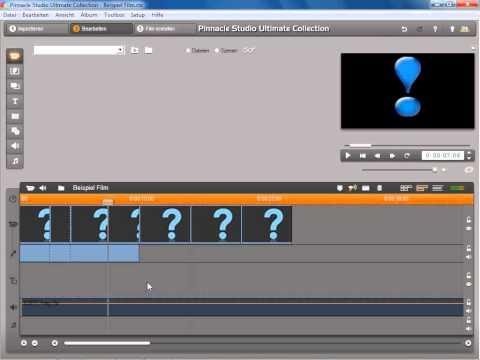Externe Festplatte verwenden in Pinnacle Studio 14 und 15
