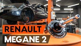 Cómo cambiar los puntal amortiguador delantero en RENAULT MEGANE 2 (LM) [INSTRUCCIÓN AUTODOC]