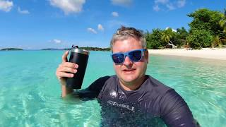 Stingray at Honeymoon Beach