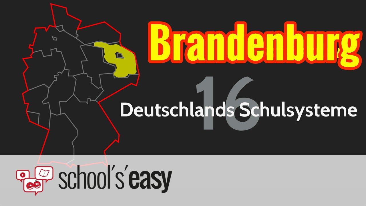 Schulsystem Brandenburg