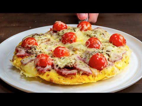 pas-de-pizza!-quelques-ingrédients-et-une-poêle-pour-un-délicieux-petit-déjeuner!|-savoureux.tv