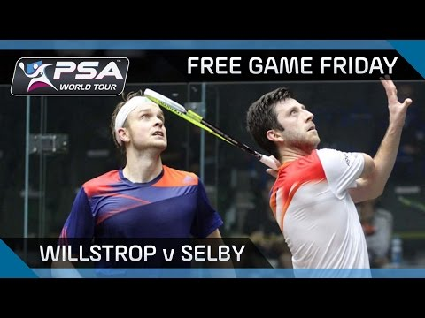 Squash: Free Game Friday - Willstrop v Selby - Qatar Classic 2013