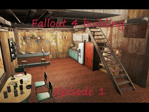 Fallout 4 Building 1 Home Plate Youtube