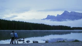 photographing banff national park