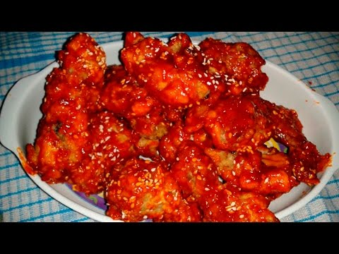 resep-yangnyeom-tongdak---ayam-goreng-pedas-ala-korea