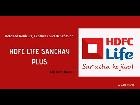 HDFC Life Sanchay Plus l Life Long Income Plan I Secure Old Age