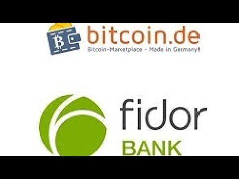 Fidor Bank - Erklärung - POSTIDENT - Anmeldung