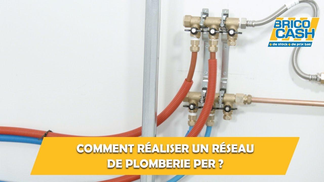 Comment Realiser Un Reseau De Plomberie Per Brico Cash Youtube