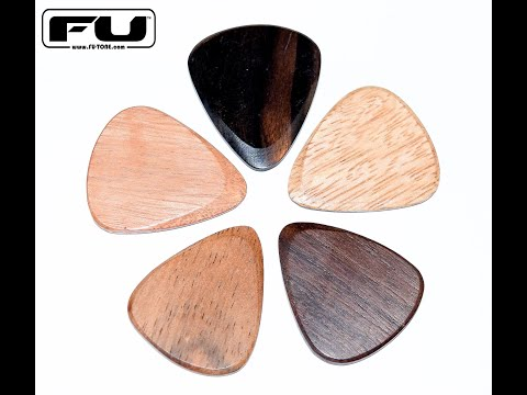 FU-Tone.com Wood Guitar Picks Demo