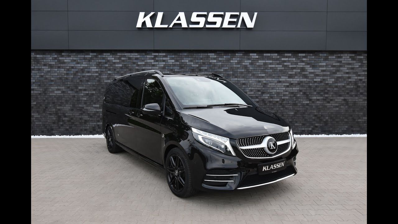 2020 KLASSEN VIP VAN - Interior Review - Based on Mercedes - Benz V300