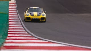 On the racetrack with the new 911 GT2 RS – Press drive in Portimão, Portugal.