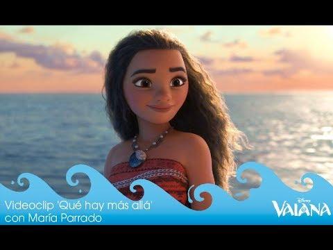 Vaiana: Videoclip 'Qué hay más allá' con María Parrado |  Disney Oficial | HD