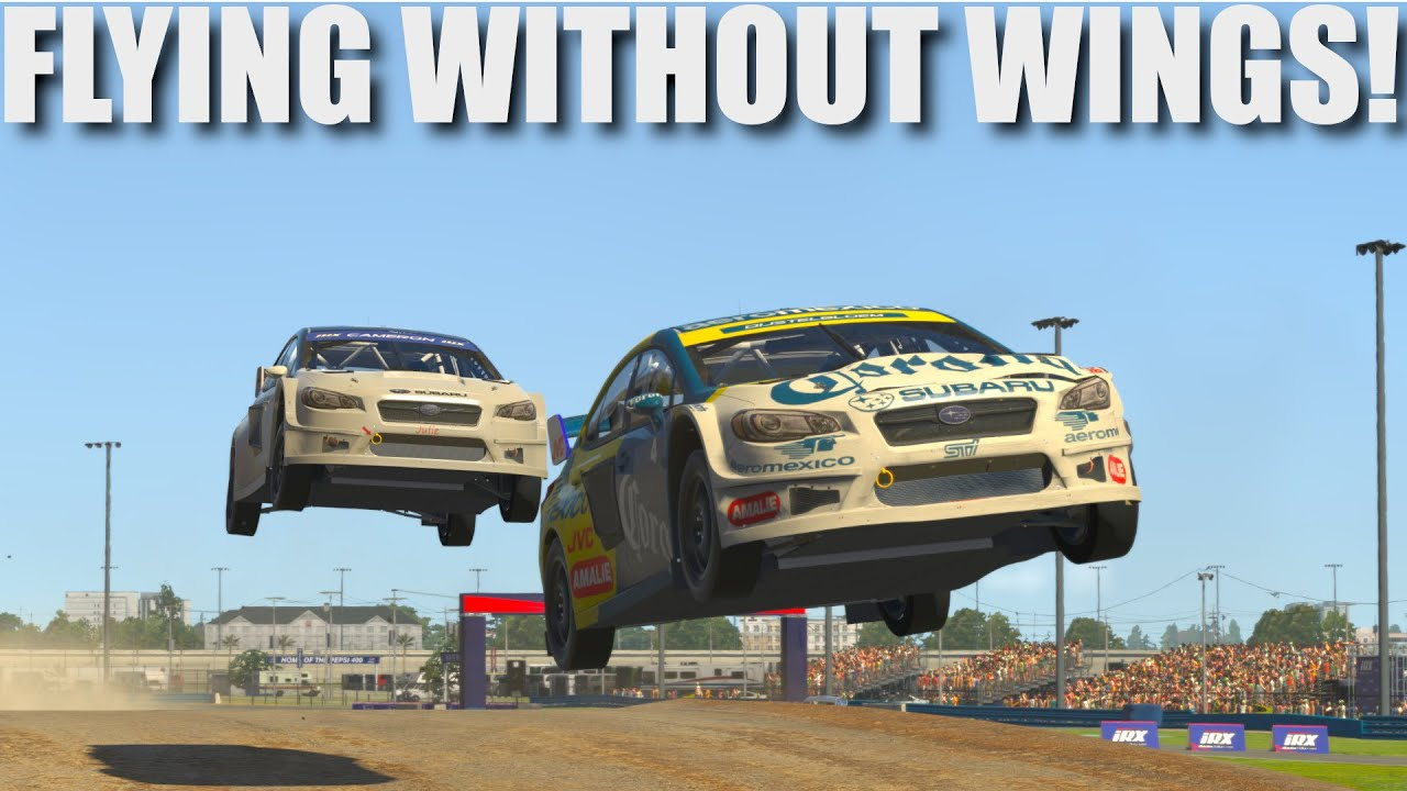 Video: Dave Cam catches some Rally X action on iRacing