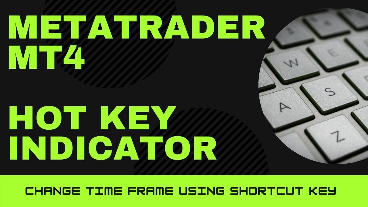 Hotkey Indicator For Metatrader 4 Mt4 Changing Time Frames Using