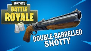 Trying out the new Double Barrel Shotgun - Fortnite Battle Royale Gameplay - Season 5