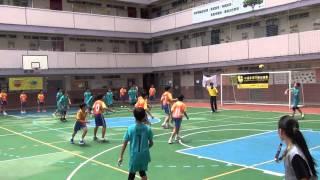 2014-15全港小學學界閃避球精英賽男小組 基恩小學VS教