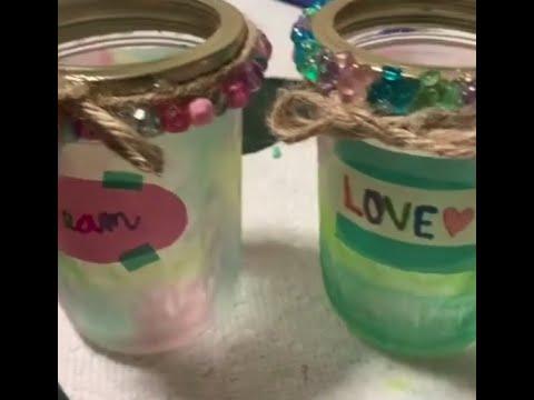 Jar Decorating DIY