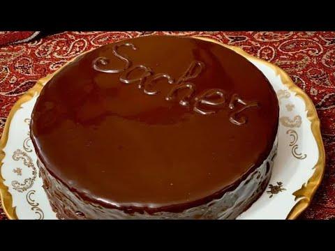 Торта Сахер - известната австрийска шоколадова  торта / Торт Захер - легендарный шоколадный торт