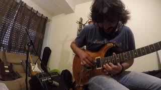 Mike Oldfield - Incantations P.III Solo (cover)