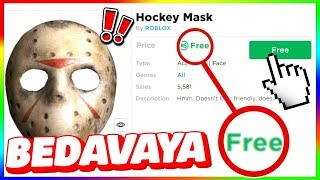 ROBLOX HOW TO BUY A MASK FOR FREE !! (REAL) - (Free Mask Without Robux)