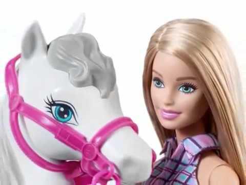 Barbie poup e et le cheval jouets youtube - Barbie et le cheval ...