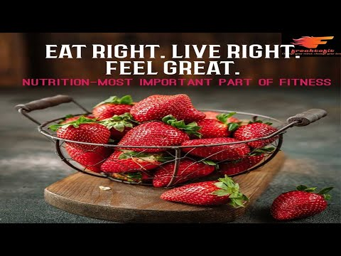 Nutrition-Most Important Part of Fitness